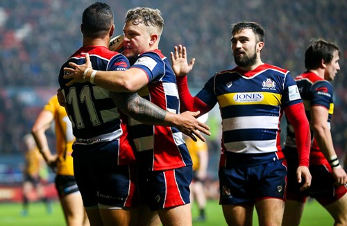 Report: Bristol Rugby 56-19 Cornish Pirates