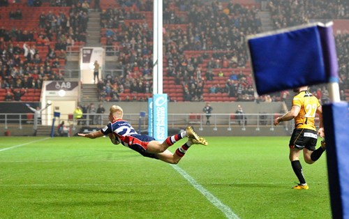 Gallery: Bristol Rugby 56-19 Cornish Pirates