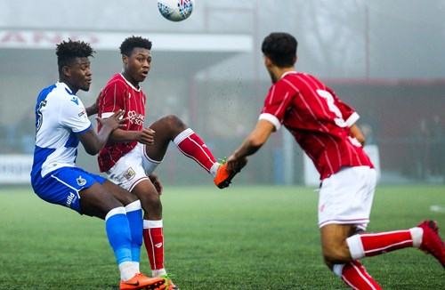 Report: Bristol City Under-23s 1-1 Bristol Rovers U23s
