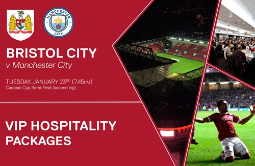 Man City second leg hospitality options
