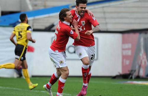 Report: Bristol City 2-2 Barnsley