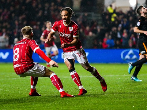 Goals: Bristol City 1-2 Wolves