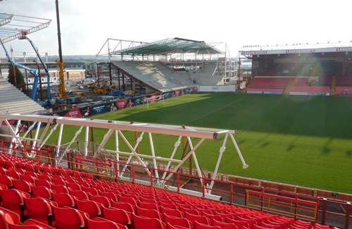 Dolman Stand - Seat relocations for Swindon Town