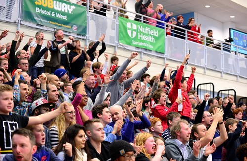 Bristol Flyers v Newcastle Eagles - SOLD OUT