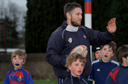 Jones Trains Juniors At North Bristol RFC
