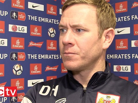 Video: Dean Holden Post-Watford away (Emirates FA Cup)