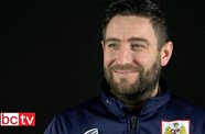 Video: Lee Johnson Pre-Manchester City away