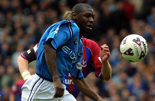 Goater and Royle heading to the Gate