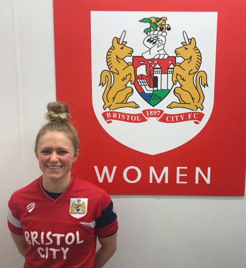 Bristol City Women sign Millie Farrow on permanent deal