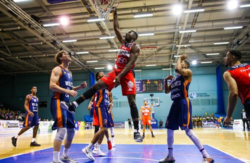 Report: Worcester Wolves 91-76 Bristol Flyers