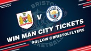 Win two Man City tickets courtesy of Bristol Flyers