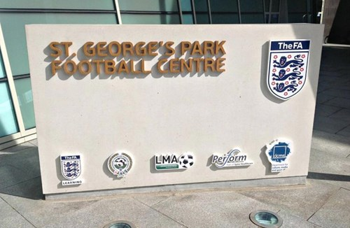 St George's Park cup action for Under-23s