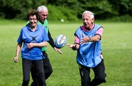 Foundation launches first fully inclusive rugby hub at St Mary's OBs
