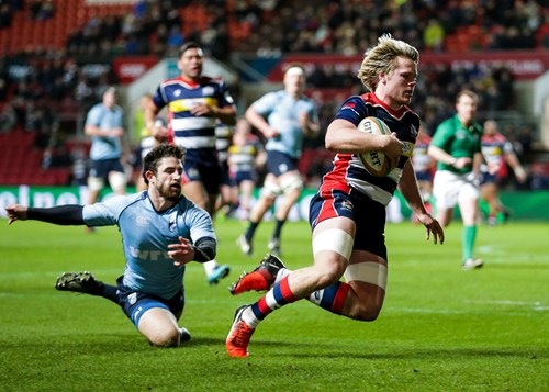 Report: Bristol Rugby 68-0 Cardiff Premiership Select