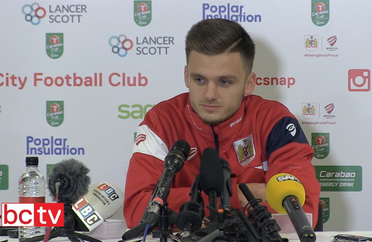Video: Jamie Paterson Pre-Manchester City press conference thumbnail