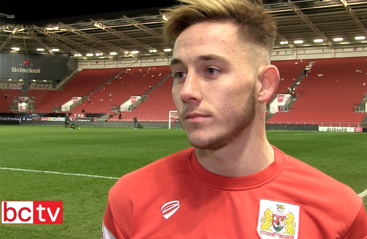 Video: Josh Brownhill Post-Manchester City home thumbnail