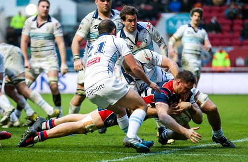 Report: Bristol Rugby 18-13 Bedford Blues
