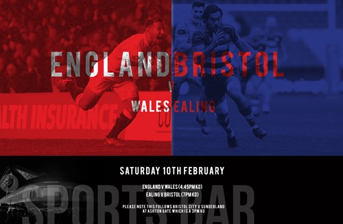 Watch rugby double header at Ashton Gate Sports Bar and Pizzeria