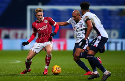 Report: Bolton Wanderers 1-0 Bristol City