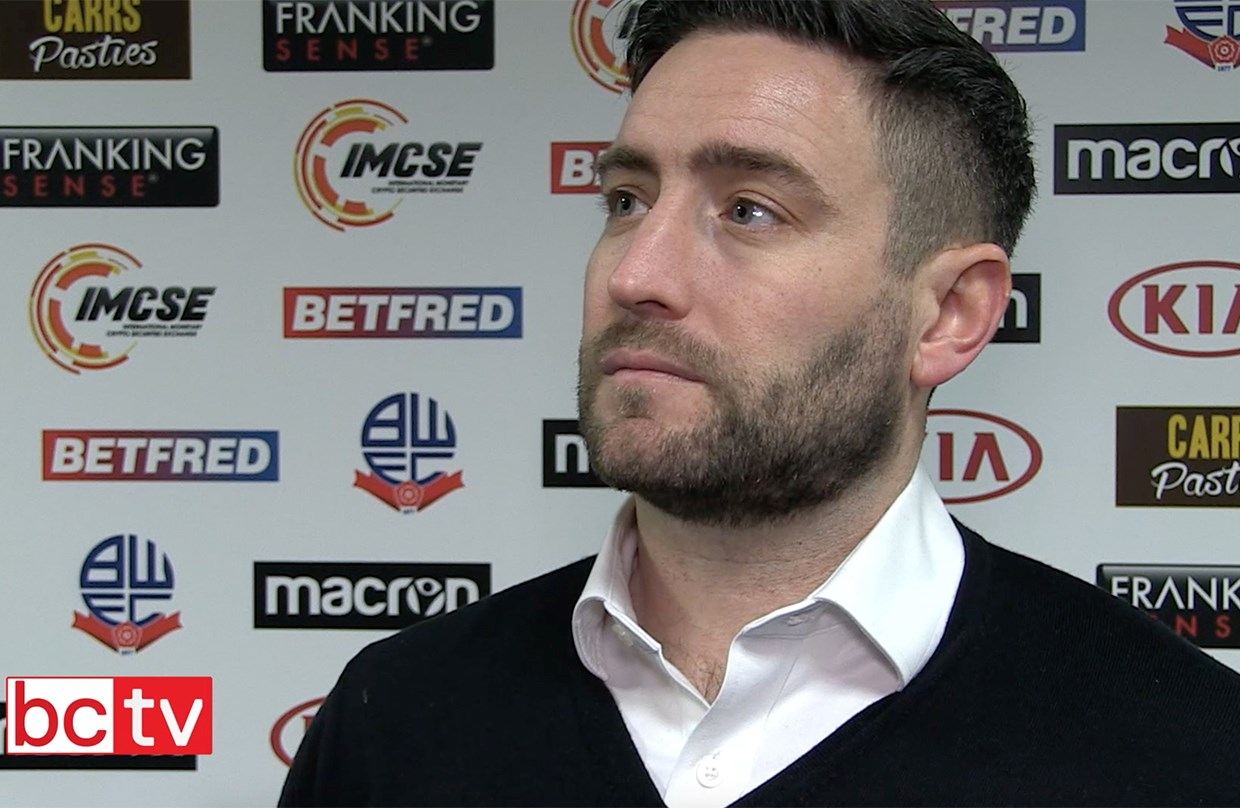 Video: Lee Johnson Post-Bolton Wanderers away thumbnail