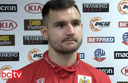 Video: Bailey Wright Post-Bolton Wanderers away