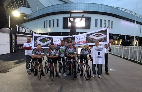 City fans cycle in aid of Bradley Lowery Foundation