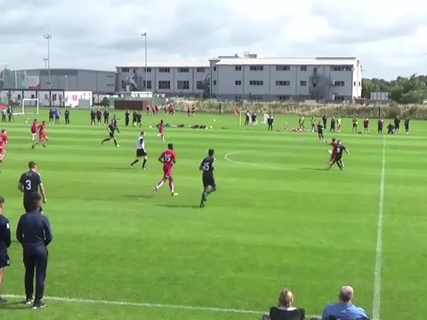 Video: Bristol City U18s v Falkirk U18s