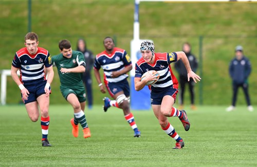 Report: Bristol Rugby U18s 17-33 London Irish U18s