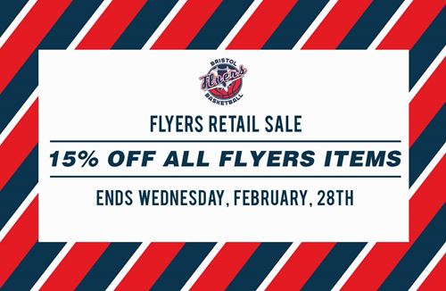 15% off all Flyers merchandise
