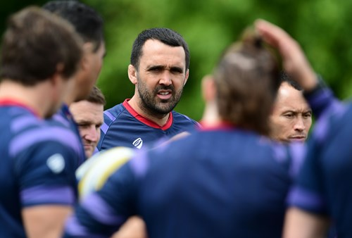 Jonathan Thomas appointed interim forwards coach