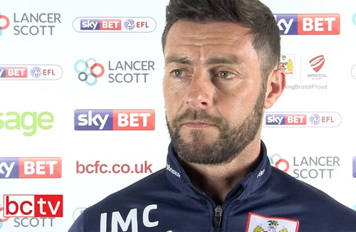 Video: Jamie McAllister Pre-Leeds United away