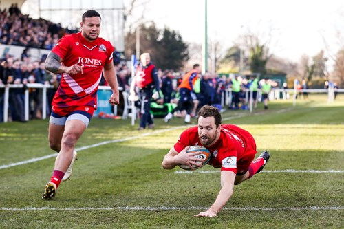 Report: London Scottish 15-55 Bristol Rugby