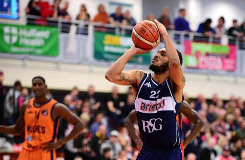 Gallery: Bristol Flyers 82-74 Worcester Wolves