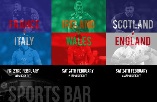 Watch Six Nations at Ashton Gate Sports Bar and Pizzeria