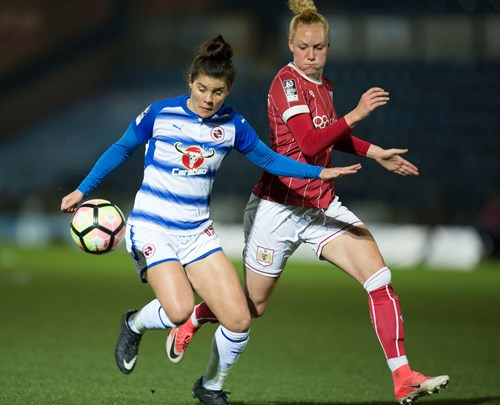 Report: Reading Women 4 - Bristol City Women 0