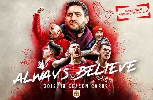 2018/19 season cards on sale now