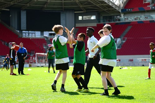 Disability Schools Football programme launches second year of delivery