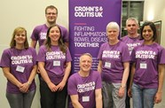 Bucket collection in aid of Crohn's and Colitis UK