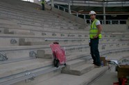 Progress Update: First Seat Installed In South Stand