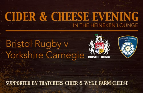 Cheese and cider hospitality night - back by popular demand!