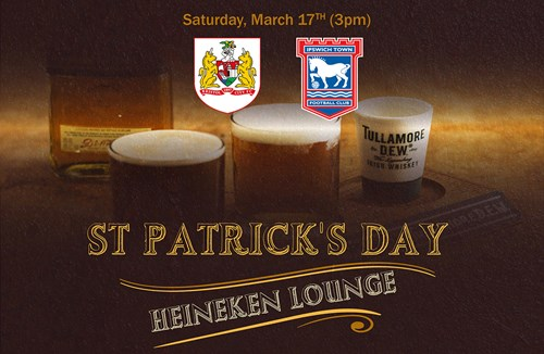 Celebrate St Paddy's Day in style