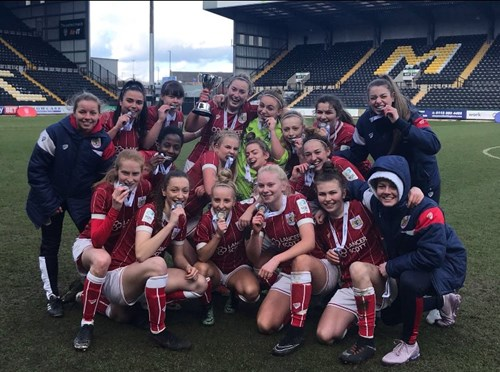 Report: SGS Female Football 3 - Solihull College 2 - ESFA Cup final