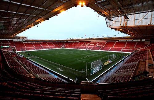 Pay on the day at Boro
