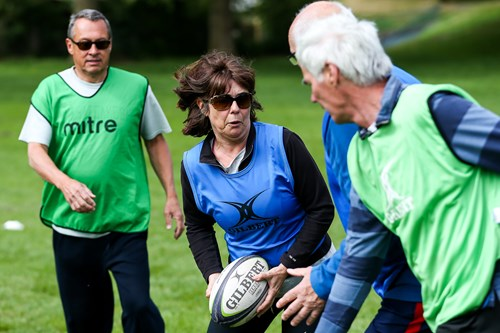Nascence case study: 'Community spirit inspired us to support Walking Rugby'
