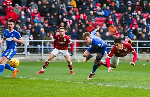 Report: Bristol City 1-0 Ipswich Town