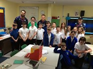 Players tackle mental-wellbeing in local primary school