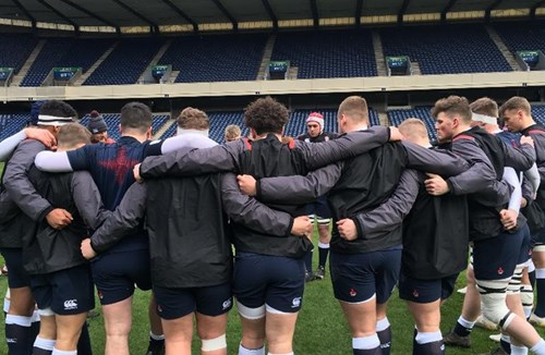 Boyland on the scoresheet as England U18 thrash Scotland U18 at Murrayfield
