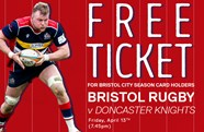 Free rugby ticket for City season card holders
