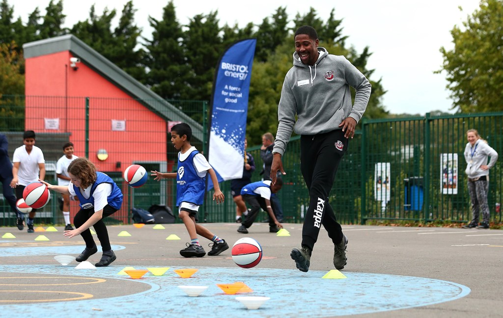 Book now for Bristol Flyers Easter camps