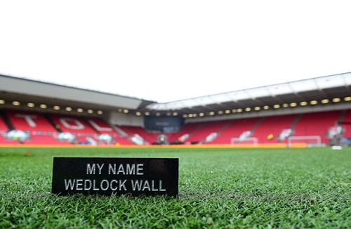 Last chance to buy your Wedlock Wall brick